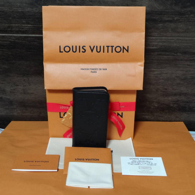 givenchy iphone7plus ケース 中古 | LOUIS VUITTON - ルイ ヴィトン モノグラム アンプラント レザー フォリオ iPhone Xの通販 by hyper.com shop|ルイヴィトンならラクマ