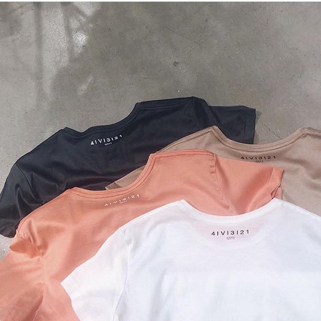 Ameri VINTAGE(アメリヴィンテージ)のAMERI COATING BASIC TEE レディースのトップス(Tシャツ(半袖/袖なし))の商品写真
