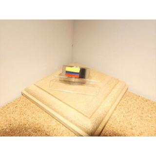 【ステンレスリング】【16号】コロンビア国旗 COLUMBIA彫り シルバー色(リング(指輪))