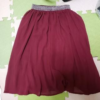 ジーユー(GU)のロング丈スカート(スカート)