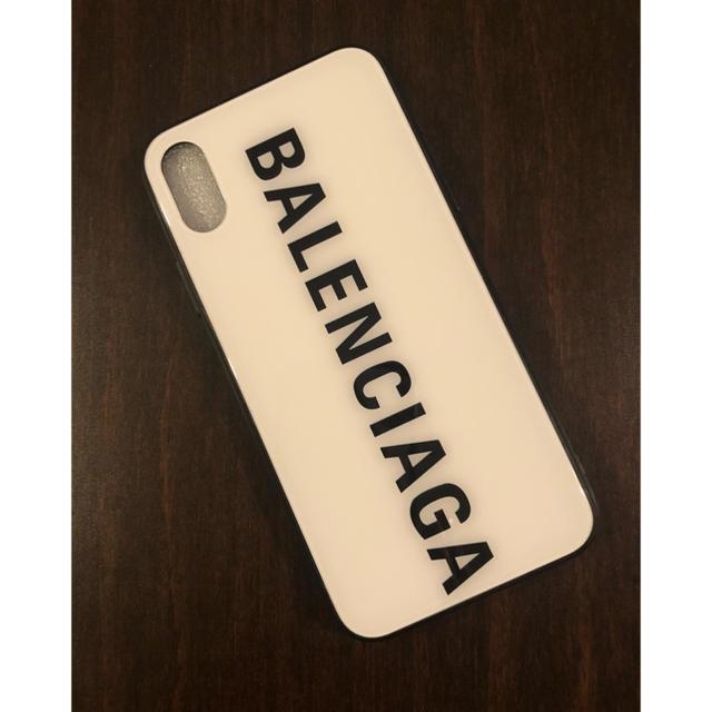 おしゃれ iphone7plus カバー 海外 / Balenciaga - BALENCIAGA ガラス iPhoneケースの通販 by yuzu♡'s shop|バレンシアガならラクマ