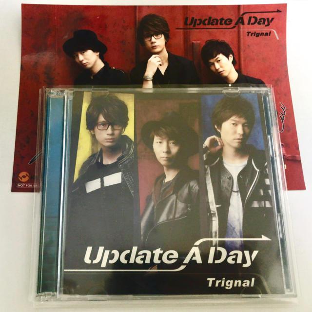 Trignal CD 「Update A Day」 豪華盤 エンタメ/ホビーの声優グッズ(その他)の商品写真