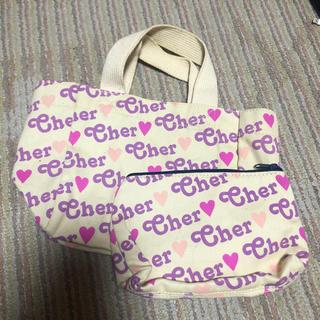 シェル(Cher)のcherエコバッグ&ポーチ(エコバッグ)