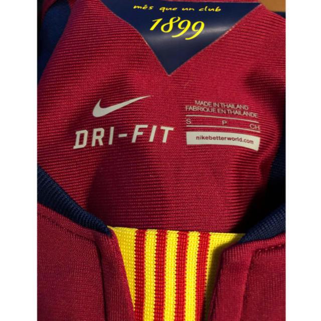 NIKE(ナイキ)の入手困難!バルセロナ ネイマール選手ユニホーム2014年モデル エンタメ/ホビーのタレントグッズ(スポーツ選手)の商品写真