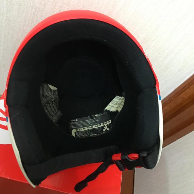 ROSSIGNOL(ロシニョール)のスキーヘルメット ロシニョール ジュニア用 58cm スポーツ/アウトドアのスキー(その他)の商品写真