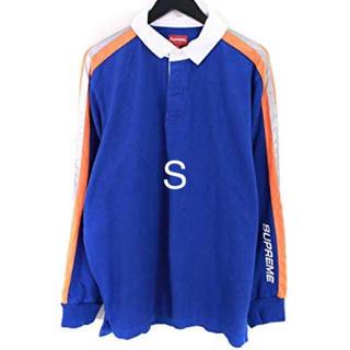 シュプリーム(Supreme)のSサイズ Reflective Sleeve Stripe Rugby(ポロシャツ)