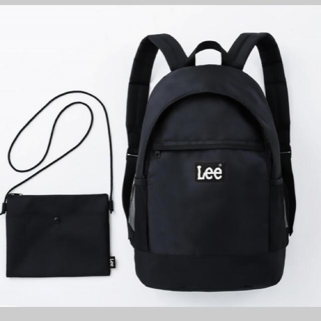 fe73fcd8ecea Lee(リー)のリュック ブラック Lee レディースのバッグ(リュック/バックパック