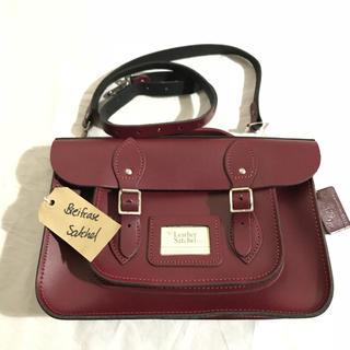 ドクターマーチン(Dr.Martens)の新品 leather satchel 2way ショルダーバッグ サッチェル(ショルダーバッグ)