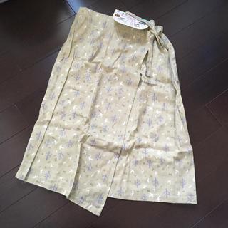 ニシマツヤ(西松屋)のオーガニックコットン 巻きスカート(ひざ丈スカート)