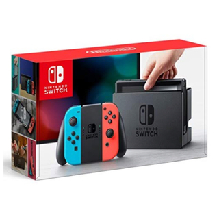ニンテンドースイッチ(Nintendo Switch)の欲しいゲーム堂々1位★ 任天堂スイッチ 本体 (ネオンブルー/ネオンレッド)(携帯用ゲーム機本体)