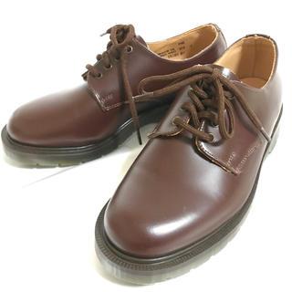 ドクターマーチン(Dr.Martens)の【未使用】solovair プレーントゥ 22.5cm 4EYE SHOE 革靴(ローファー/革靴)