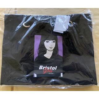 エフシーアールビー(F.C.R.B.)の◼︎新品 moussy SW Bristol girls SHOPPER 黒(トートバッグ)