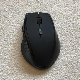 無線マウス 黒(PC周辺機器)