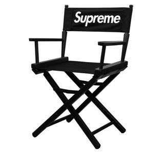 シュプリーム(Supreme)のSupreme Director's Chair Black(折り畳みイス)