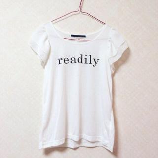 ジエンポリアム(THE EMPORIUM)のホワイト トップス ♡(Tシャツ(半袖/袖なし))
