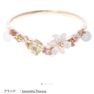 サマンサティアラ(Samantha Tiara)のサマンサティアラ   フラワーレターズ  リング(リング(指輪))