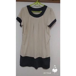 オリーブデオリーブ(OLIVEdesOLIVE)の授乳服ワンピース3L(マタニティワンピース)