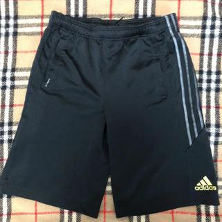 アディダス(adidas)のアディダス  ハーフパンツ 黒 ブラック 160(ウェア)