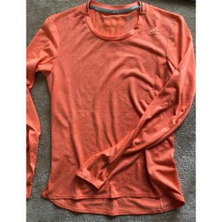 アディダス(adidas)のアディダス長袖ランニングシャツ(Tシャツ(長袖/七分))