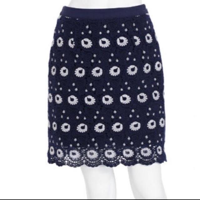 MERCURYDUO(マーキュリーデュオ)のMERCURYDUO カラーレースタイトスカート レディースのスカート(ミニスカート)の商品写真