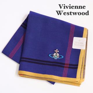 ヴィヴィアンウエストウッド(Vivienne Westwood)の⭐新品シールタグ付き ヴィヴィアンウエストウッド ハンカチーフ【オーブ柄】⭐(ハンカチ/ポケットチーフ)