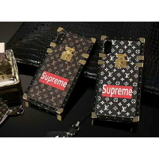 LOUIS VUITTON - Lvxsupreme携帯ケース iphonecaseアイフォンケースの通販 by 吉田 一人's shop|ルイヴィトンならラクマ
