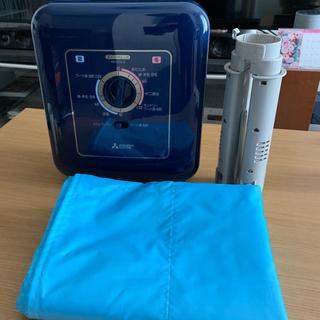 ミツビシデンキ(三菱電機)の送料込 三菱 布団乾燥機 衣類乾燥機(衣類乾燥機)