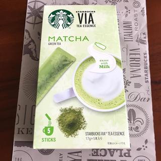 スターバックスコーヒー(Starbucks Coffee)のスターバックス VIA 抹茶(茶)