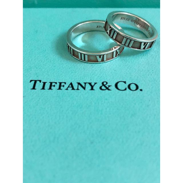 buy popular c1fd2 d971f Tiffany ペアリング アトラス