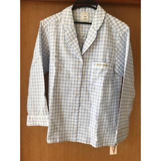 ジェラートピケ(gelato pique)のギンガムチェックシャツ(パジャマ)
