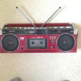 サンヨー(SANYO)のレトロラジカセ SANYO(ラジオ)