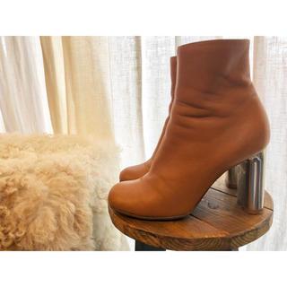 セリーヌ(celine)のceline ブーツ ショートブーツ セリーヌ バンバン 35.5 フィービー(ブーティ)