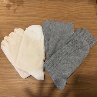 ムジルシリョウヒン(MUJI (無印良品))のロフトで購入 重ねばき靴下(レッグウェア)
