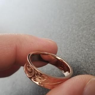 ハワイアンジュエリー ピンクゴールド 19号(リング(指輪))