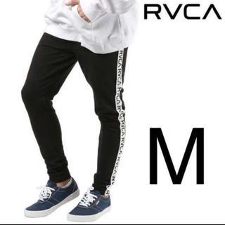 ルーカ(RVCA)のRVCAテープロゴのメンズスウェットパンツ(レギンス/スパッツ)