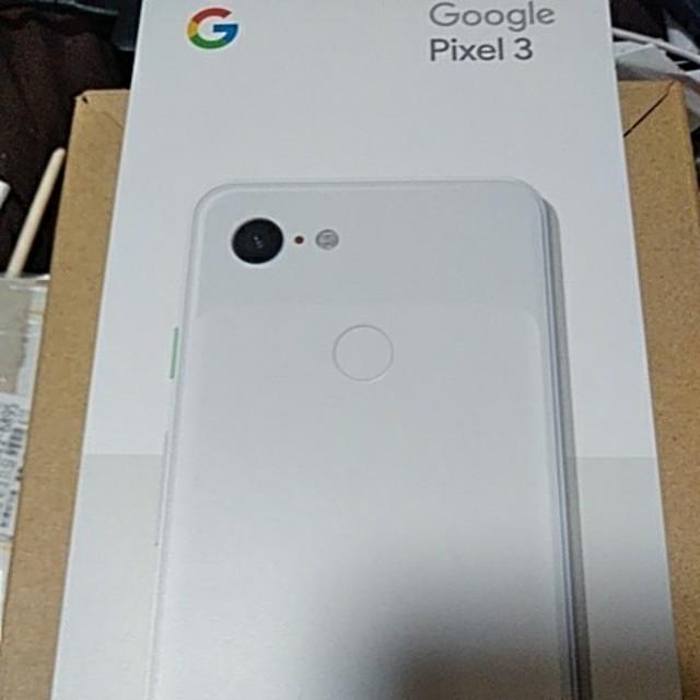 Google Pixel 3 64G 本体 新品同様 softbank ホワイト スマホ/家電/カメラのスマートフォン/携帯電話(スマートフォン本体)の商品写真