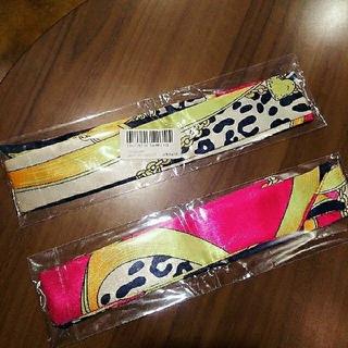 ザラ(ZARA)の◆ツイリースカーフ◆レオパード柄 二枚セット(バンダナ/スカーフ)