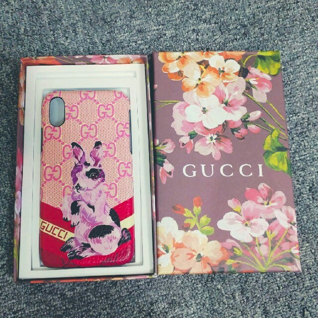 iphone8 ケース 手帳型 ディズニー 、 Gucci - 正規品 GUCCI グッチ★iPhonX 用ケースの通販 by ちゃんえが's shop|グッチならラクマ