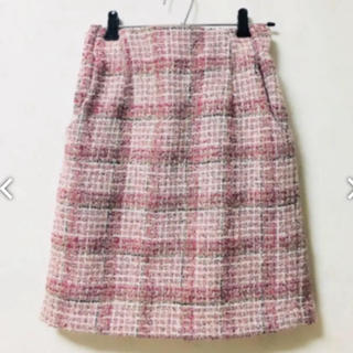 ティアンエクート(TIENS ecoute)の春 ニットスカート tiens ecoute (ひざ丈スカート)
