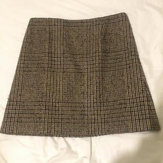 アントニオベラルディ(ANTONIO BERARDI)のベラルディ グレンチェック柄スカート(ミニスカート)
