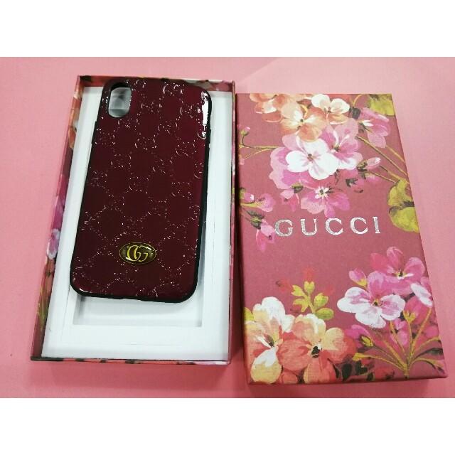 Gucci - GUCCI グッチ iPhoneXSケースの通販 by ミズノ's shop|グッチならラクマ