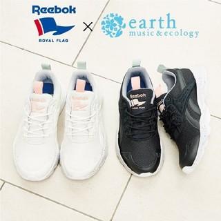 アースミュージックアンドエコロジー(earth music & ecology)の新品23、5㎝◆Earth×Reebok◆アース×リーボック コラボシューズ (スニーカー)