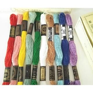 オリンパス(OLYMPUS)の最終価格!刺繍糸・刺繍布セット  Cosmo OLYMPUS(生地/糸)