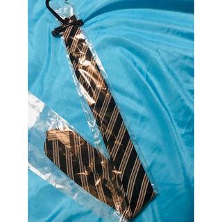 ニシジン(西陣)の西陣織ストライプネクタイ☆クリーニング済☆礼装にも普段にも。裏地少し傷あり。(ネクタイ)