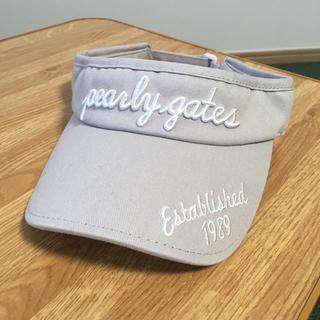 パーリーゲイツ(PEARLY GATES)のパーリーゲイツ   ゴルフ サンバイザー(その他)