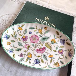 ミントン(MINTON)のミントン ハドンホール オーバルトレイ[未使用]⚠️有り(食器)