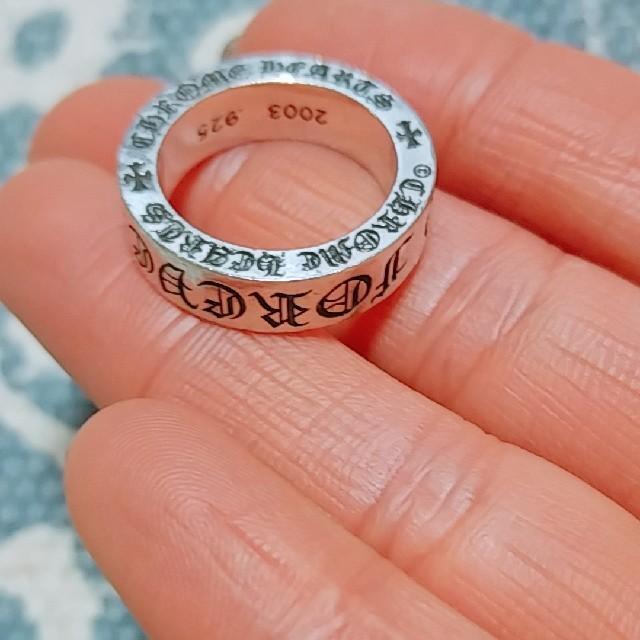 Chrome Hearts(クロムハーツ)のゆうじ様専用 クロムハーツリング6 メンズのアクセサリー(リング(指輪))の商品写真