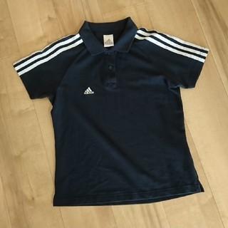 アディダス(adidas)のadidas アディダス ポロシャツ Mサイズ  レディース美品 (ポロシャツ)