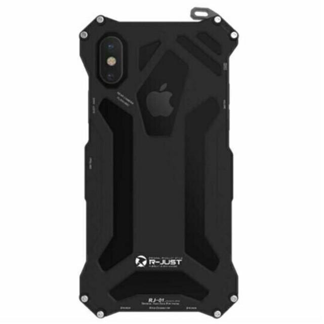 iphone XS Max対応用ケース アルミ合金 防衝撃 機械質感 豪華の通販 by 直美's shop|ラクマ