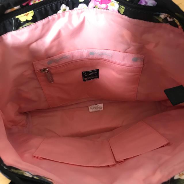 Chesty(チェスティ)ののん様専用 chestyレスポのコラボハンドバッグ 美品 ショルダーなし レディースのバッグ(ハンドバッグ)の商品写真